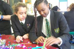 STEM project with UCL and success with Year 7 scientists.