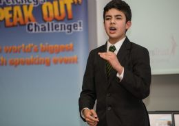 Speak out challenge 2014