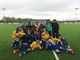 Double cup final success for football academy