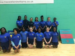 Indoor athletics team represent Rushcroft