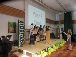 Year 8 graduation a hugely successful evening