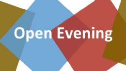 Open Evening October 10th 2016