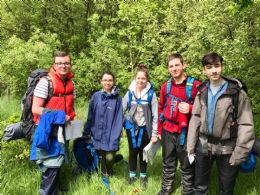 Duke of Edinburgh practice expedition