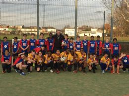 Andros Townsend sponsors our year 7 football team